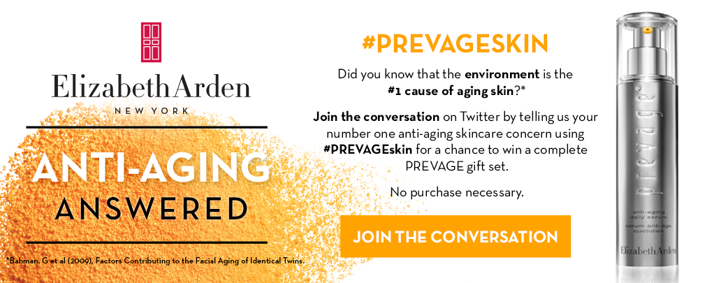 SWEEPS: Share your #1 anti-aging skincare concern using #PREVAGEskin for a chance to WIN: http://t.co/PJHXkirCJH http://t.co/2Xd99R0arl