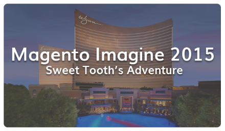 sweettooth: Sweet Tooth's experience at #ImagineCommerce 2015!nnA recap of the conference:nhttp://t.co/2VEYLBTRnY #realmagento http://t.co/I7szc3m9qf
