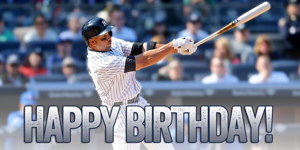 "New York Yankees on Twitter: ""Happy 38th birthday to ..."