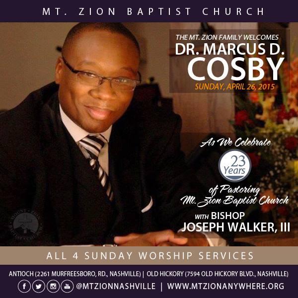 Always enjoy interviewing Bishop @JosephWalker3! Help him celebrate 23 years of Pastoring this Sunday in #Nashville http://t.co/esVIF8S9CF