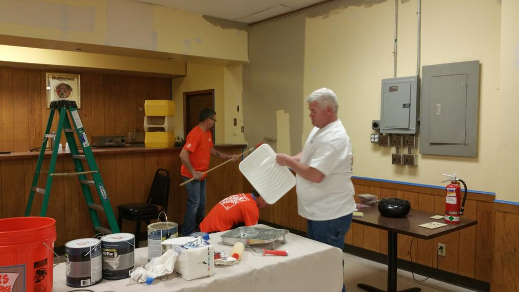 The Home Depot Foundation On Twitter Frisk21 Fresh Paint Goes A