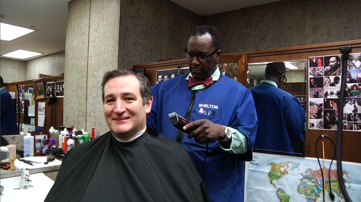 We caught up w @tedcruz at the House barbershop! Find out what he had to say tonight on @maddow and Sunday at 8am et http://t.co/iufCm23ctE