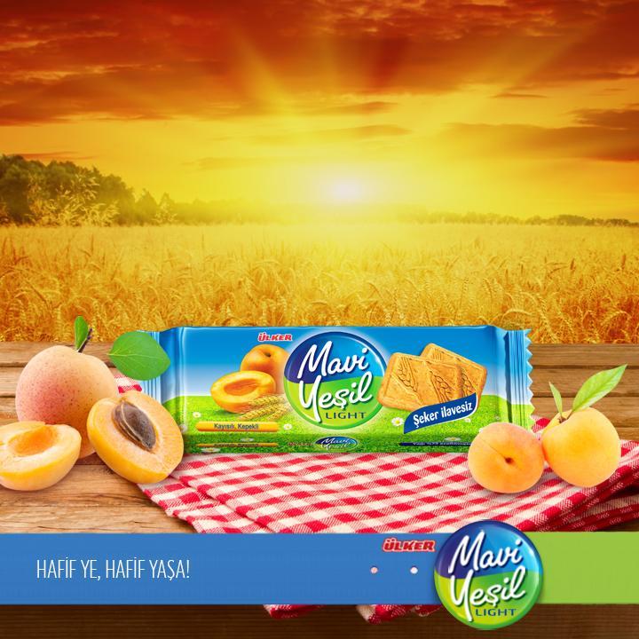 Bu ara öğün için tavsiyemiz: B vitamini yönünden oldukça zengin olan Ülker Mavi Yeşil Kayısılı Kepekli Bisküvi :) http://t.co/GQ3iUI4c1k