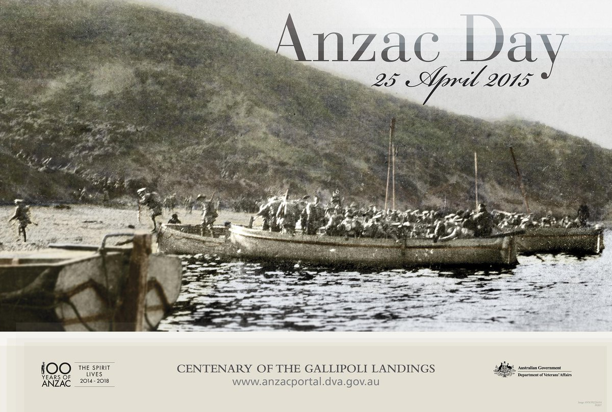As we commemorate #AnzacDay, we recognise and thank all of those who have served our country over the past 100 years http://t.co/mdwrXC7W35