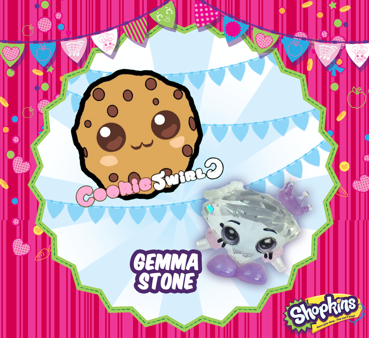 Cookie Swirl On Twitter One Of A Kind Shopkin Gemma Stone Episode Will Be Posted Tomorrow At Tco BUxtcFvtUr Dont Miss It