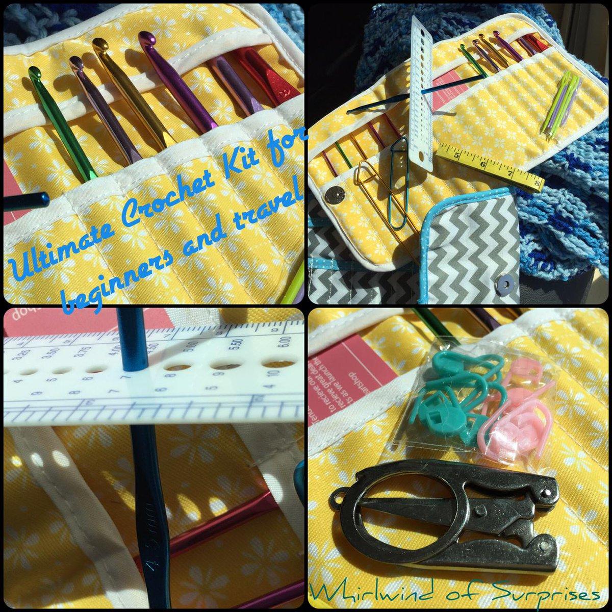 Ultimate Crochet Kit for beginners and travel
