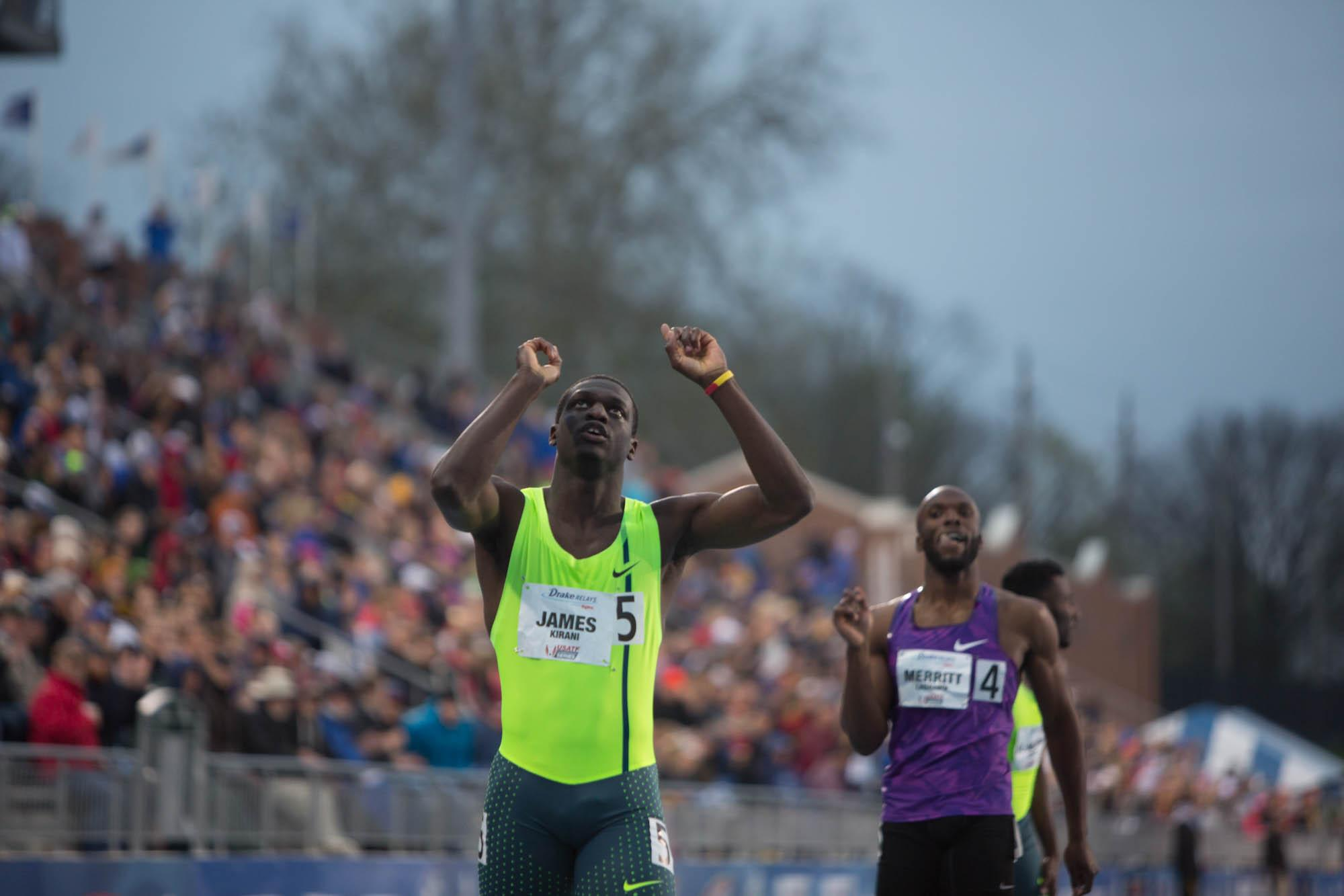 Kirani James Breaks Michael Johnson's Drake Relays Record