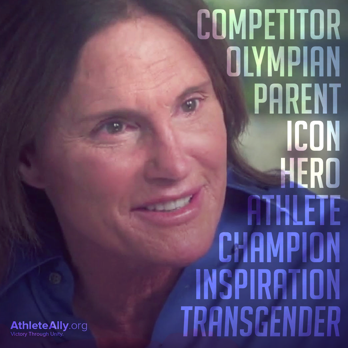Once a Champion. Always a Champion. Congratulations @BruceJenner on being your true self! #BruceJennerABC http://t.co/wxRuaPRrEk