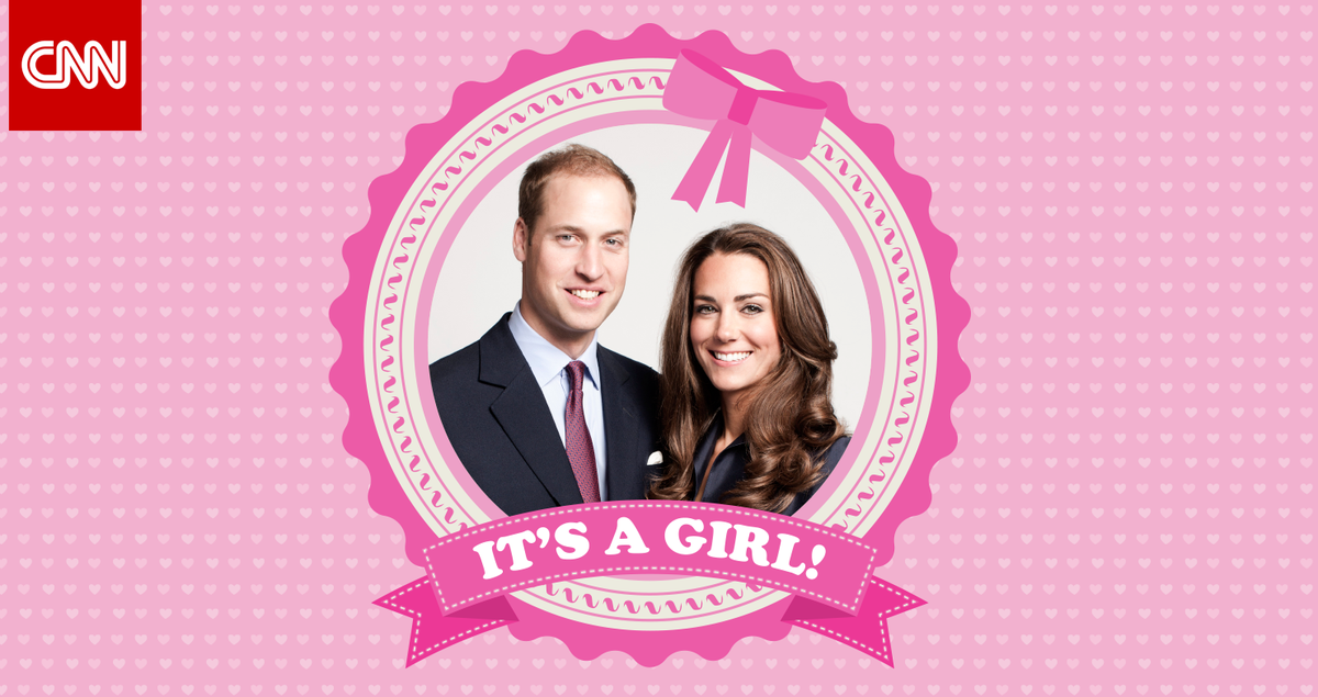 The Duchess of Cambridge gave birth to a baby girl this morning, Kensington Palace said.