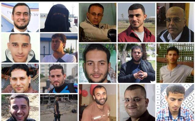 17 journalists were killed during the last #Israeli aggression on #Gaza strip, summer 2014.  #PressDay http://t.co/viJfHMXUe8