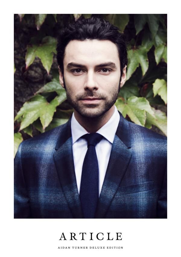 The @AidanTurner cover for @TheArticleMag deluxe edition out now- grooming by me using @Shiseido_UK @Bumble #poldark http://t.co/FtjPdX91vK