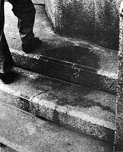 Innocent children, on the way to school, murdered. Their shadows seared into the concrete of Hiroshima. http://t.co/DQOGXiKxEb