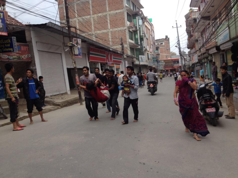 More pictures of #earthquake. #Nepal http://t.co/YQjvu4Fm2D