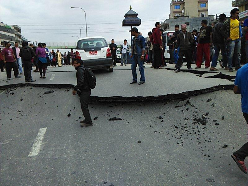 Terremoto M7,7 in Nepal 25 aprile 2015 con repliche