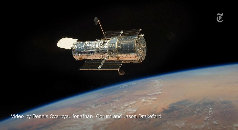 RT @nytimes: After 25 years, the Hubble telescope is still surprising us http://t.co/qo3pGtce9o http://t.co/LJGSUsIccQ