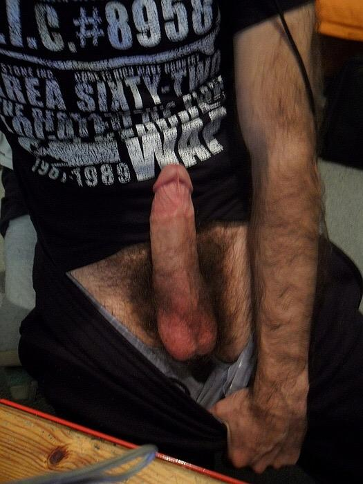 Straight guys with big dick