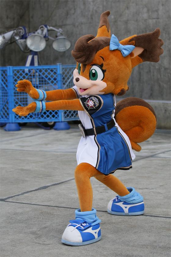 球界一かわいいマスコット。ポリー☆ポラリス(*´ω`*)  http://t.co/WYQ0Y76QWi