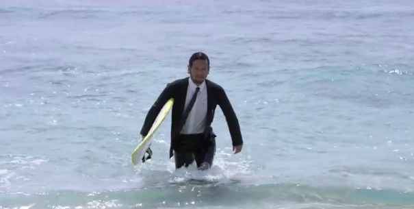 Quicksilver Japan releases epic short film to promote its new product - wetsuit tuxedos! http://t.co/BL0Z9C2ugd http://t.co/qNtoMXmMae