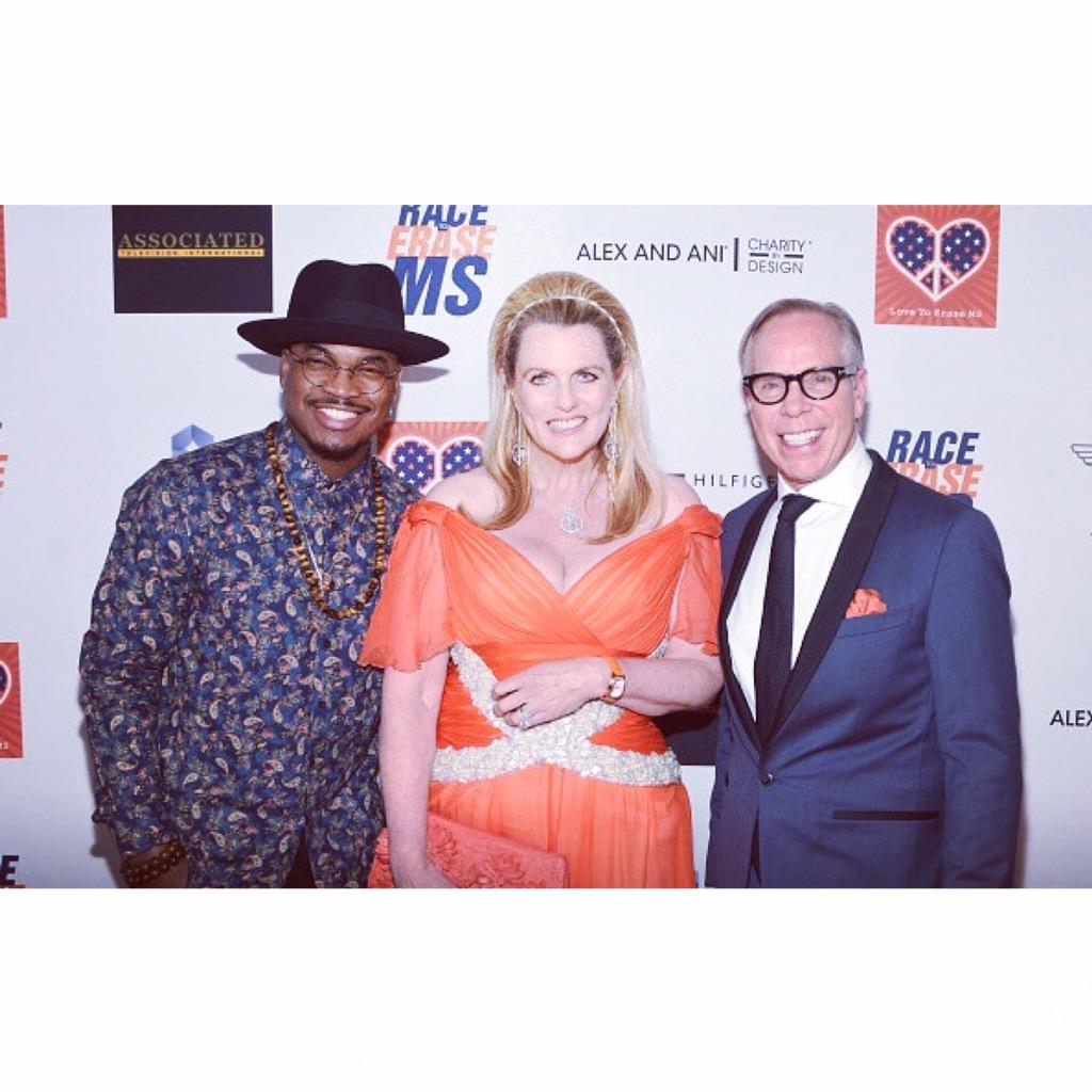 - @RaceToEraseMS with @TommyHilfiger and @NDavisR #EraseMS #NONFICTION2015 https://t.co/IShJQPqCPN http://t.co/o49Le4TVdp