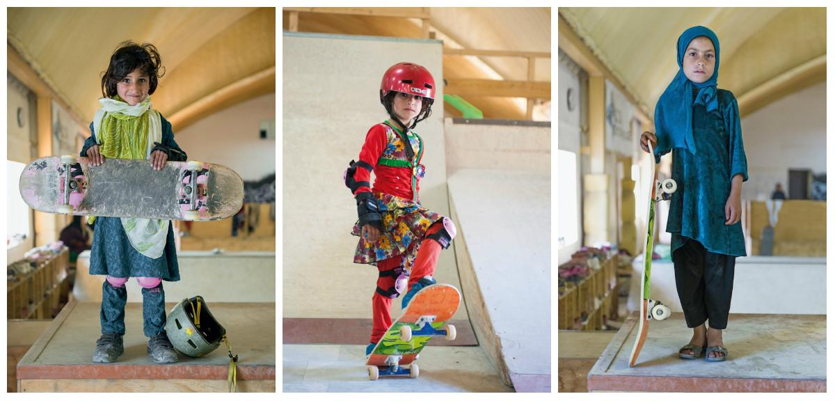 Forbidden from riding bikes, fearless Afghan girls are skateboarding around Kabul http://t.co/XUnt5OeLyT http://t.co/Tepx8miUaT