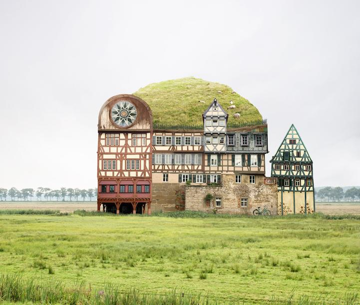 Whimsical architectural collages - take a look here: http://t.co/zXeZudUYa8 http://t.co/DckgKwQoXD
