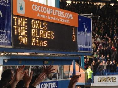 Farewell then old #swfc scoreboard we've had some moments #MASSIVE http://t.co/UvsGYryS8v