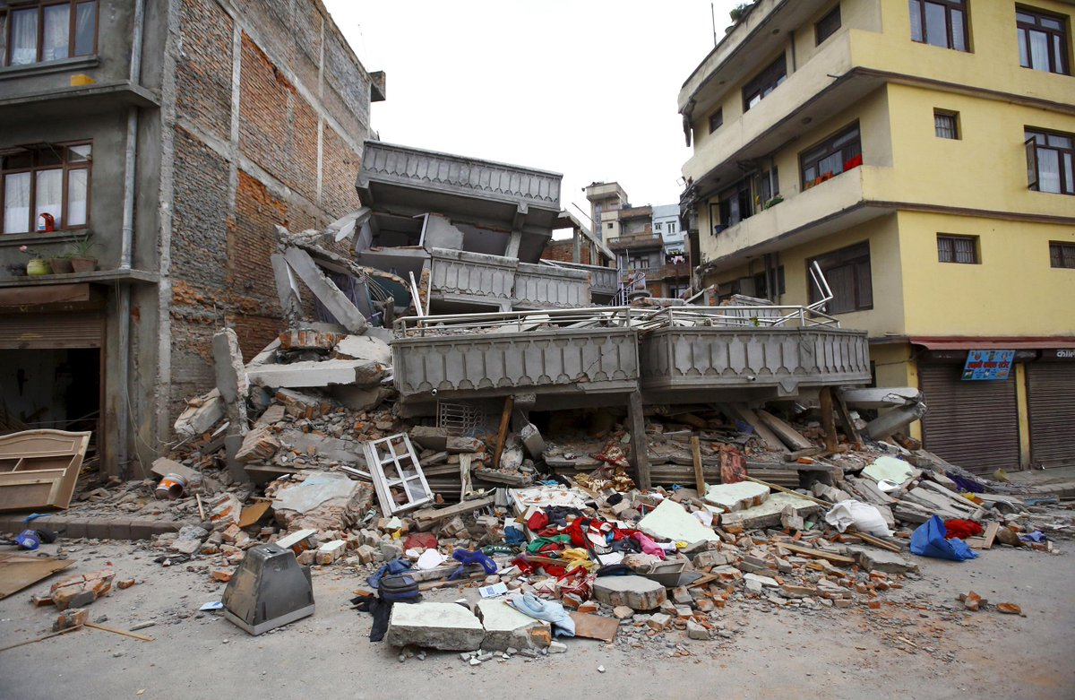 Nepal Earthquake Images