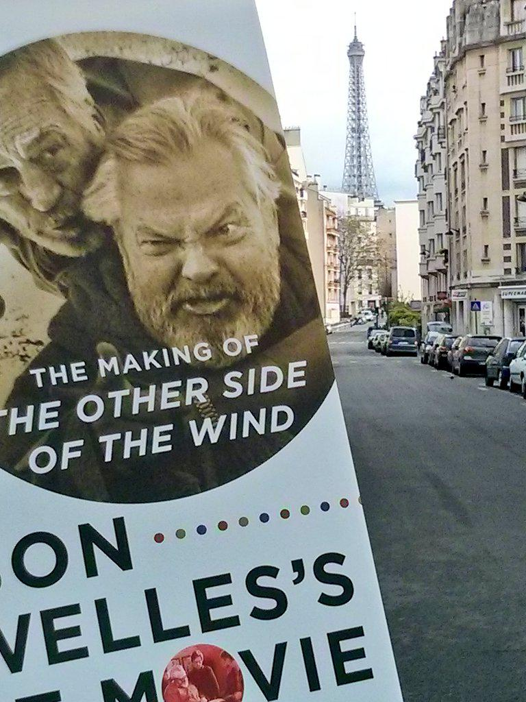 The Making of The Other Side of The Wind : Orson #Welles's Last Movie book just arrived in Paris - France ! :)