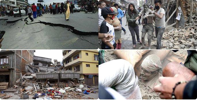 Il terribile terremoto in Nepal M7,8 del 25 aprile 2015