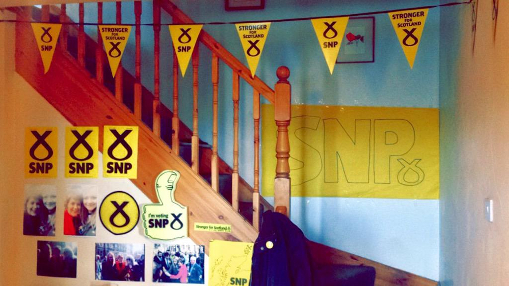 That's the household ready a for the election #snp #SNPSTIRLING @NicolaSturgeon @Steven4Stirling @RHBruceCrawford http://t.co/8pSS1Muv14