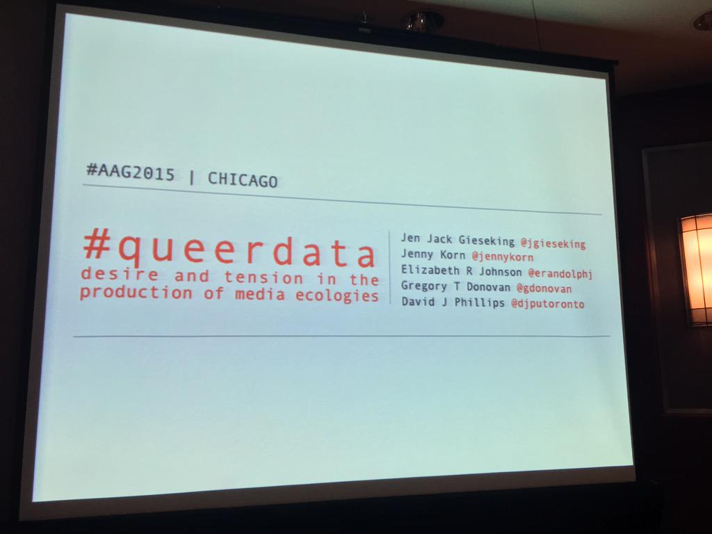Thumbnail for #QueerData: Desire and Tension in the Production of Media Ecologies #AAG2015