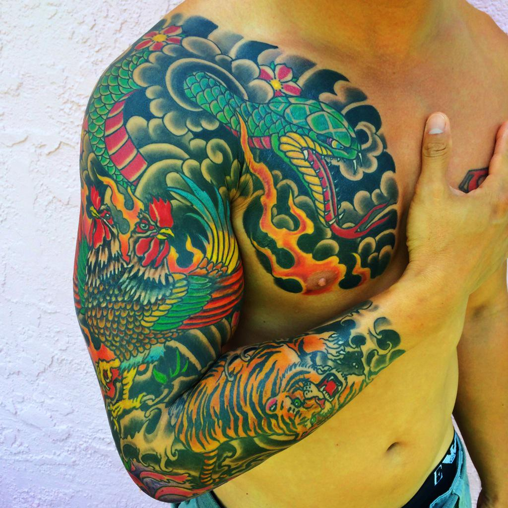 mark longenecker on twitter japanesestyle tattoo day family members chinese zodiac signs. Black Bedroom Furniture Sets. Home Design Ideas