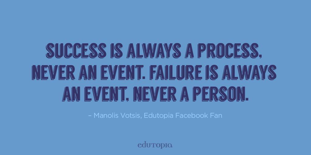 Don't forget to #fail #failforward today! @edutopia http://t.co/SZYlwUoWzV