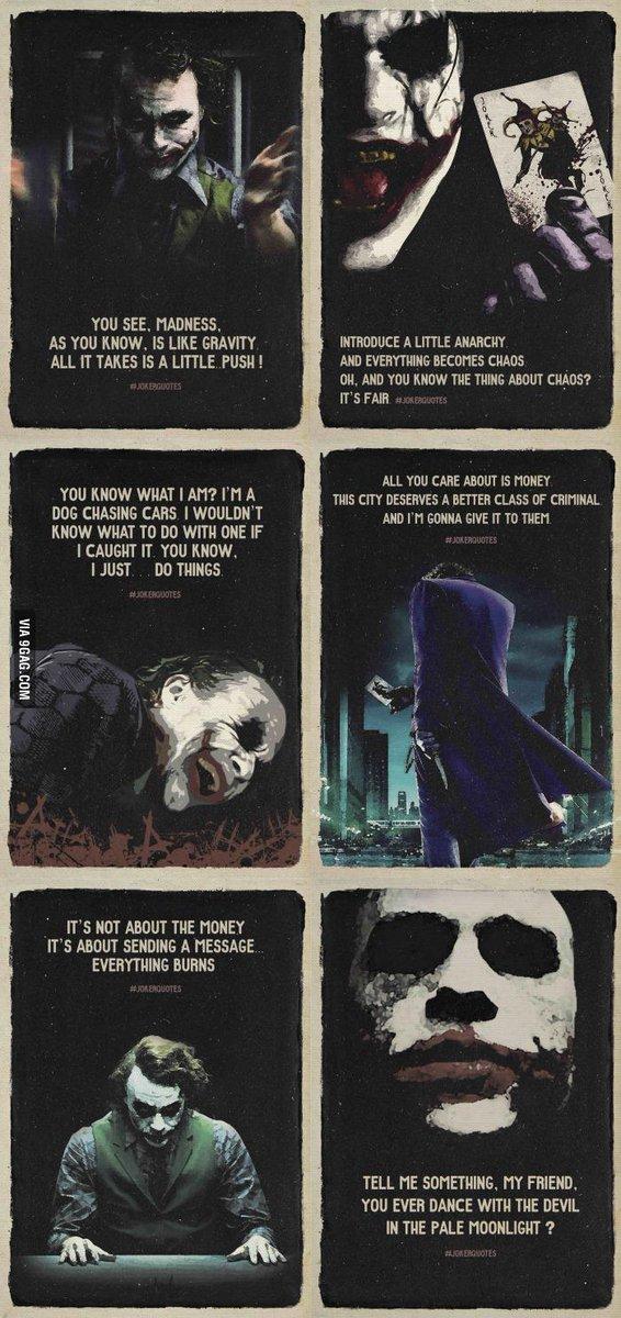 9gag On Twitter Best Joker Quotes Http T Co 8nfgvzwkwg Http T
