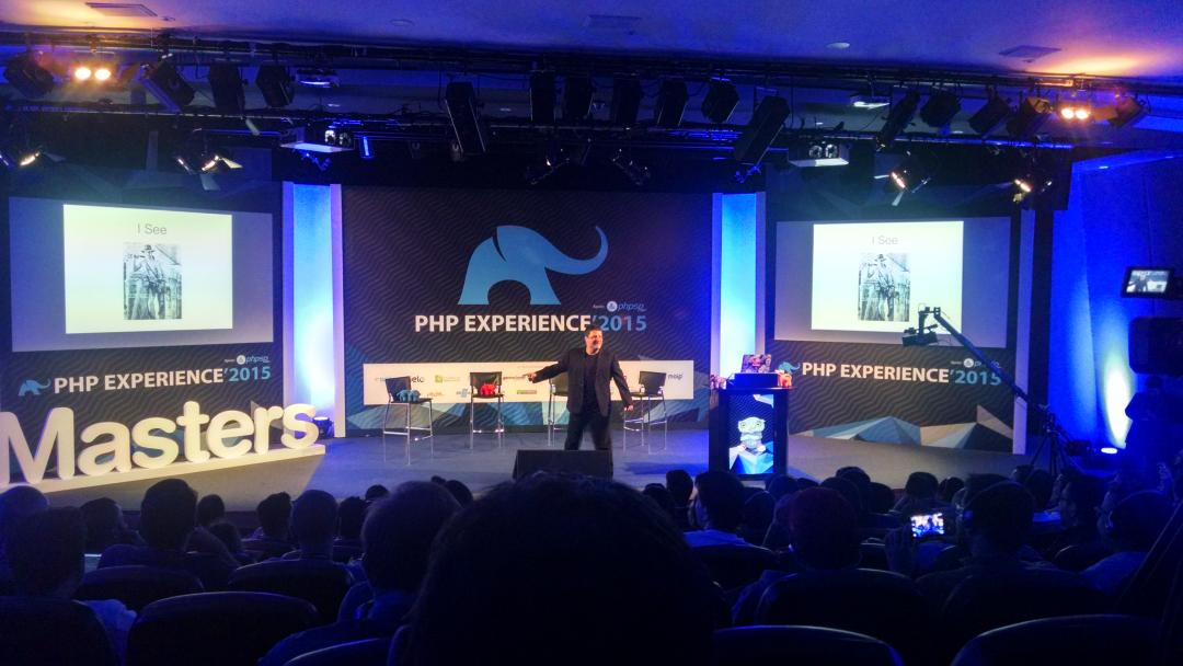 #phpexperience @CalEvans http://t.co/ecglUFB4K5