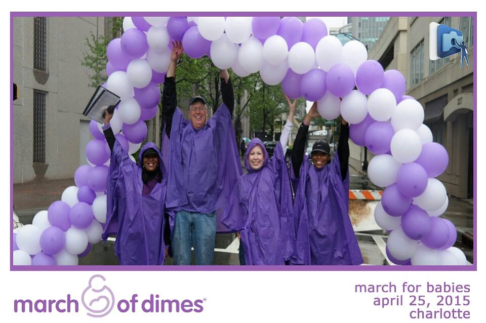 Charlotte March For Dimes.  #tapsnapCLT #cltmarchforbabies http://t.co/4HXvU2tQ7a