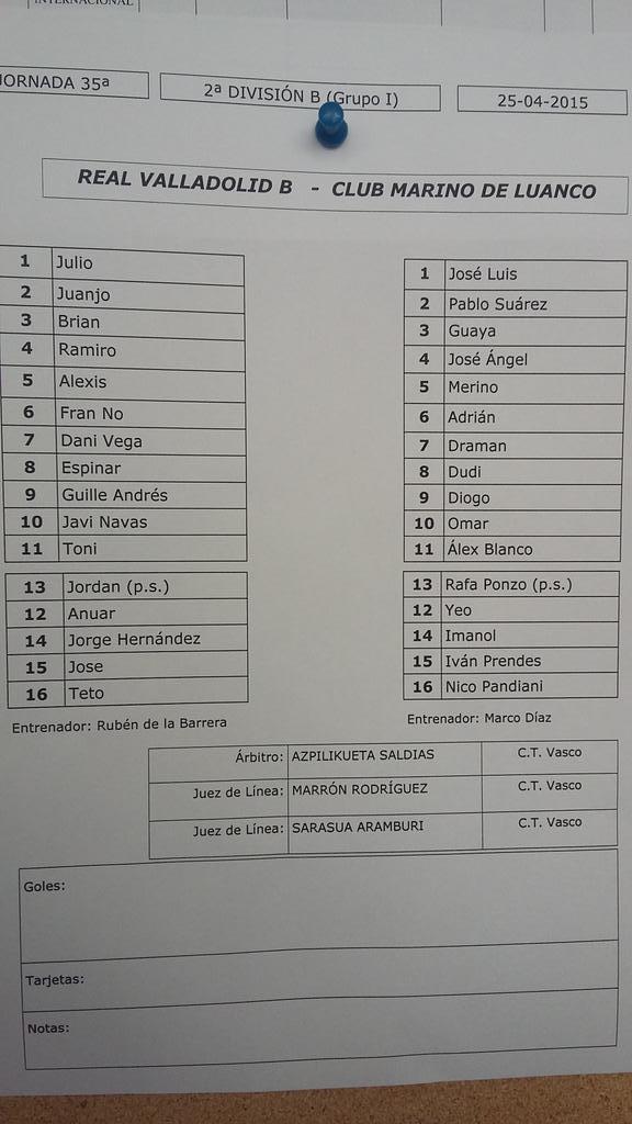 Real Valladolid B - Temporada 2014/15 - 2ª División B Grupo 1 - Página 49 CDcec-gW8AA6zfA