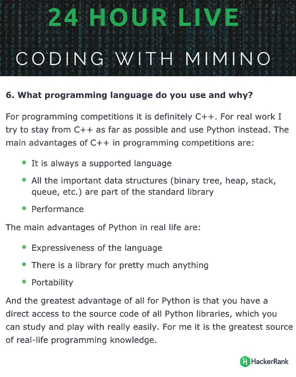 Hackerrank C Programming