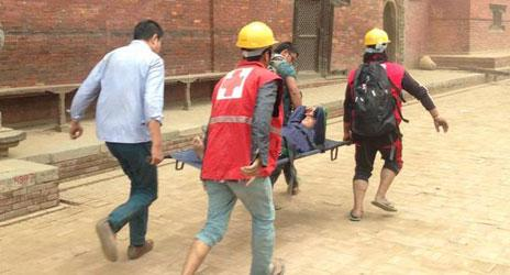 We're preparing to mount an int'l emergency response to #NepalEarthquake. Latest info here: http://t.co/HYXU0SECej http://t.co/S1o7EfOM0y