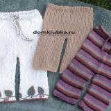вязанные красивые детские носочки