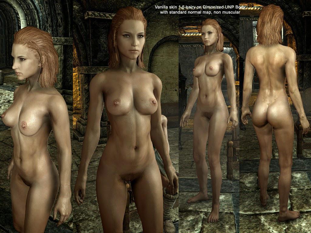 Nude npc