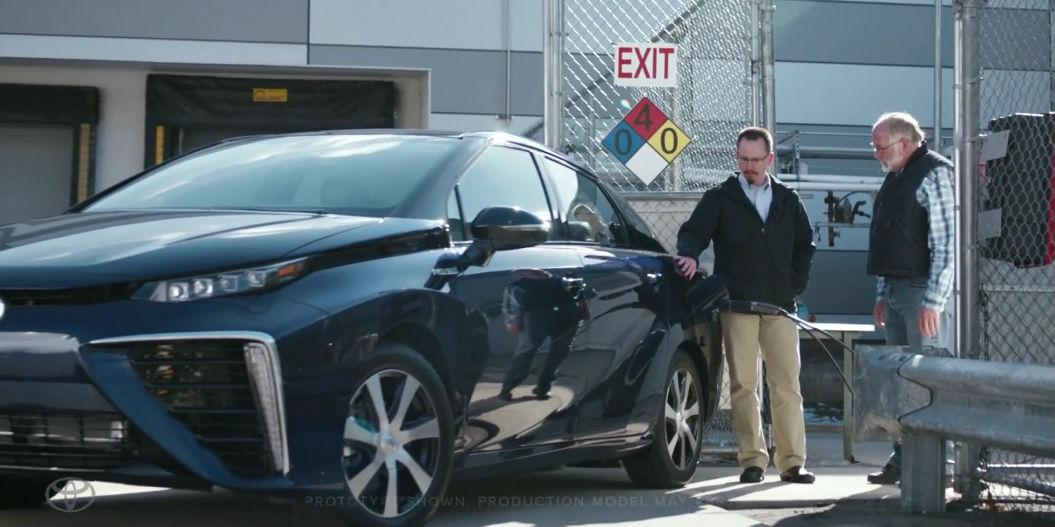 ICYMI: Toyota rolls out hydrogen fuel-cell Mirai with @Droga5 campaign calling 'bullsh*t' http://t.co/bQk3AeGH4X http://t.co/QkHdbZTOh1