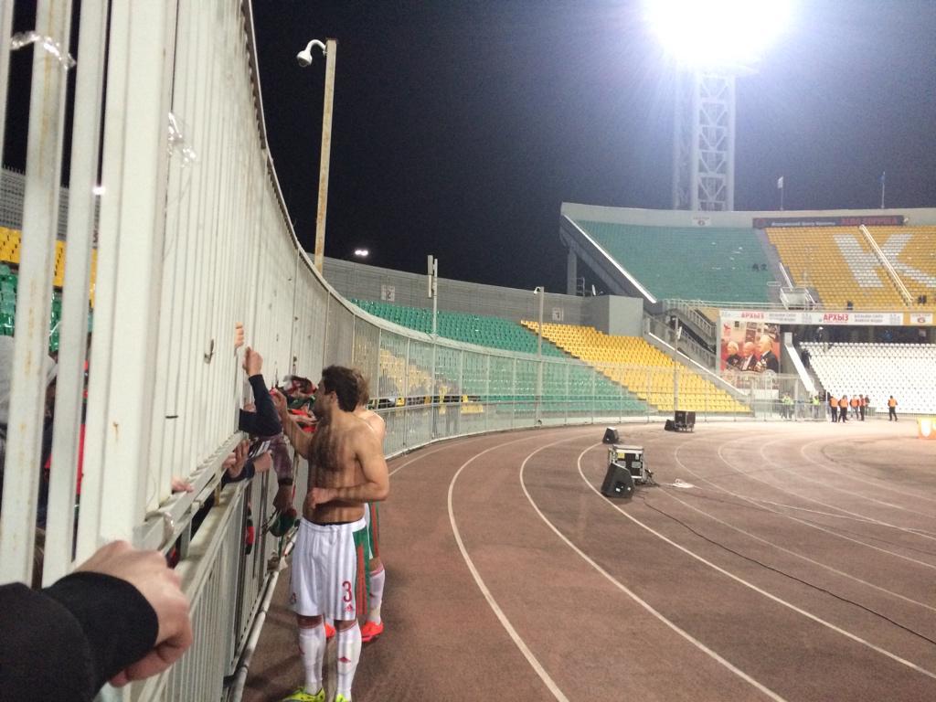 Денисов и Касаев извинились перед болельщиками за игру «Локомотива» в Краснодаре