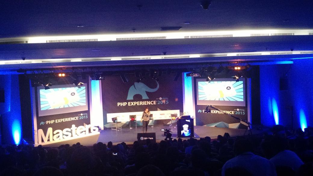 #phpexperience @erikaheidi na PHP Experience 2015 http://t.co/VNYBAtqUSR