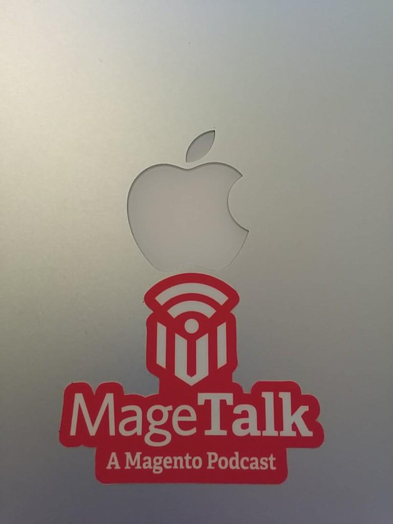brentwpeterson: Thanks @MageTalk for the awesome sticker from #ImagineCommerce http://t.co/v3GQPGUJ4u