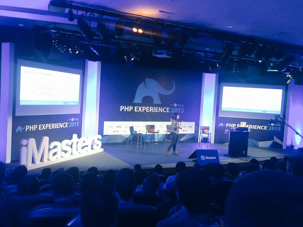 Vagrant+Ansible #phansible #phpexperience http://t.co/7U7bWQP6pK