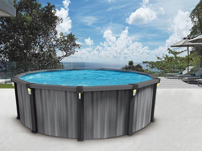 Tr vi on twitter la piscine hors terre volt fait partie for Piscine trevi