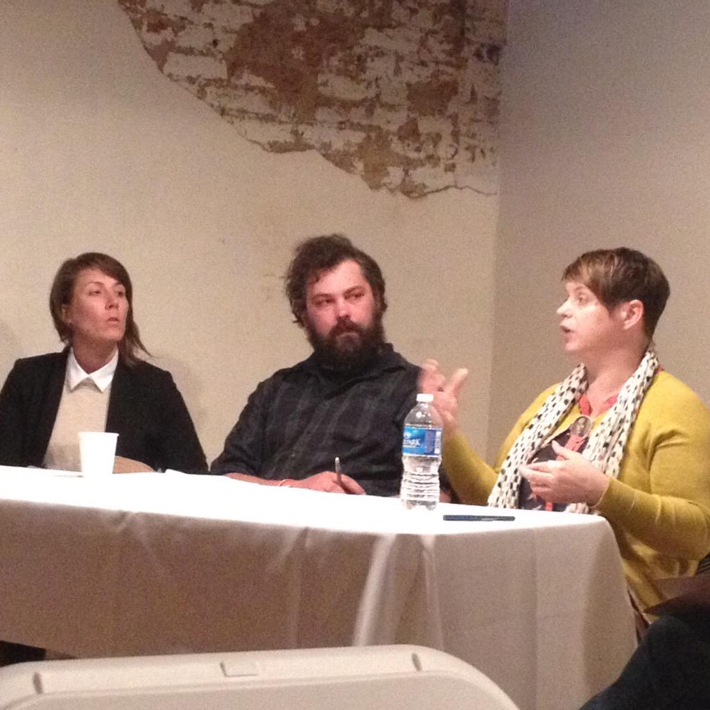 Piper Groves, Nelly Anderson, and Angus Carter talkin' art + community @Innovate_LIVE http://t.co/ZhfZrnwXr7