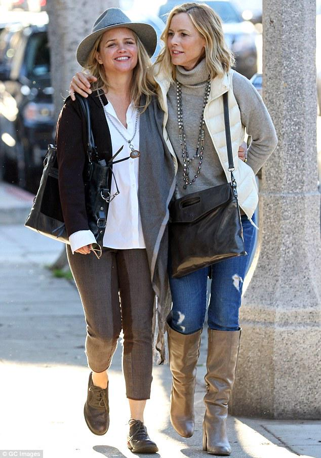 "The L Word on Twitter: ""Maria Bello with her girlfriend ..."