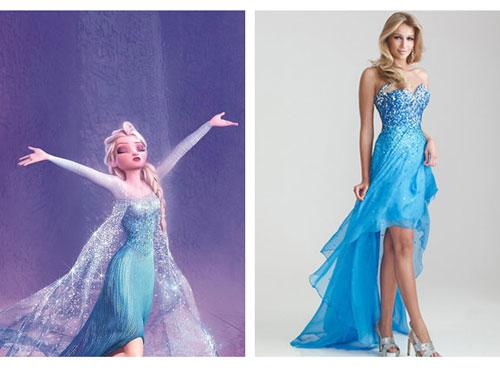 Disney Princesses Prom Dresses Inspired Disney Princesses